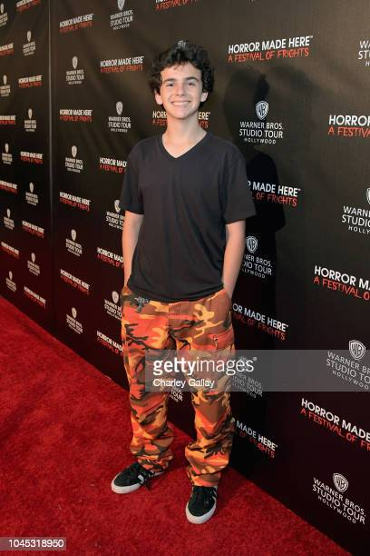 Jack Dylan Grazer attends the Warner Bros Studio Tour Hollywood Horror Made Here A Festival Of Frights on October 3 2018 in Burbank California