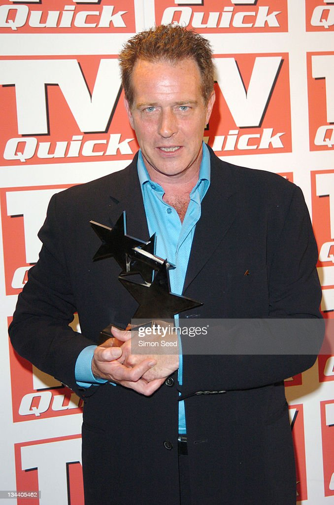 Jack Ellis during 2004 TV Quick Soap Awards - Press Room at Dorchester Hotel in London, Great Britain.