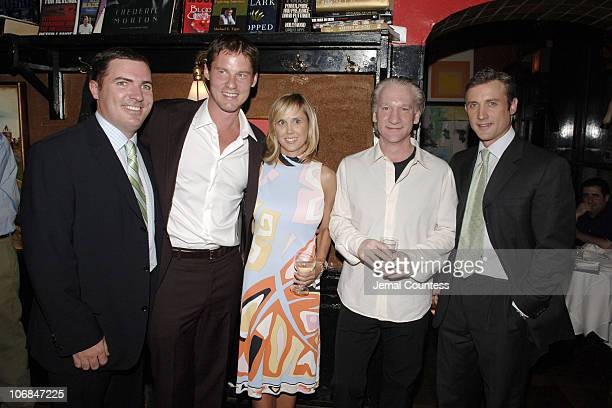 Jack Essig publisher of Men's Health Magazine David Zinczenko Paige Nelson Bill Maher and Dan Abrams
