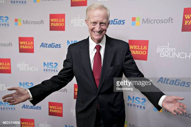 Jack Evans Washington DC councilmember the 25th Annual White House Correspondents Garden Brunch in Washington DC US on Saturday April 28 2018 The...