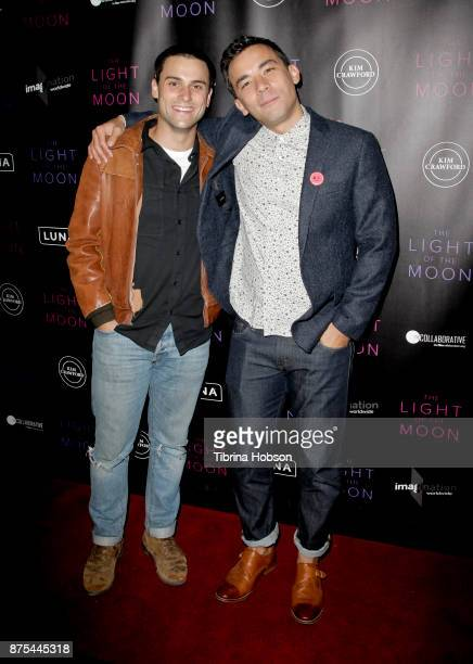 Jack Falahee and Conrad Ricamora attend 'The Light Of The Moon' Los Angeles premiere at Laemmle Monica Film Center on November 16 2017 in Santa...