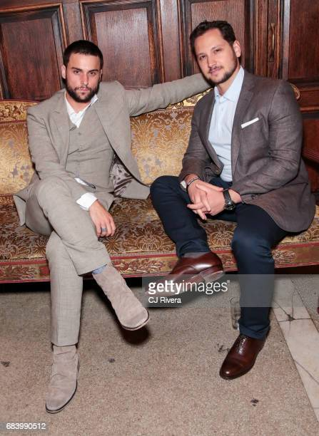 Jack Falahee and Matt McGorry attend the 2017 Gersh Upfronts Party at The Jane Hotel on May 16 2017 in New York City