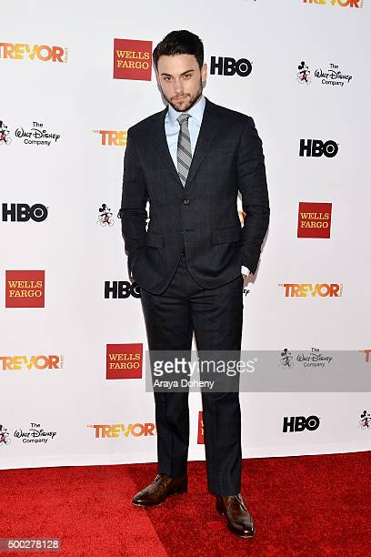 Jack Falahee attends the TrevorLIVE LA 2015 event at Hollywood Palladium on December 6 2015 in Los Angeles California