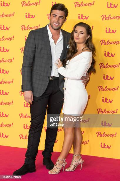 Jack Fincham and Dani Dyer attend the ITV Palooza held at The Royal Festival Hall on October 16 2018 in London England