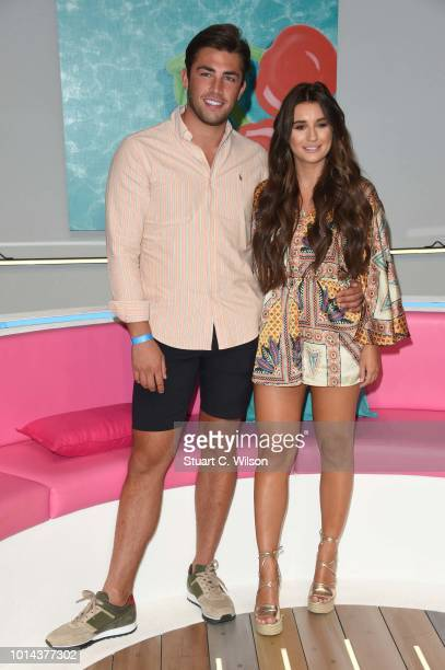 Jack Fincham and Dani Dyer during the 'Love Island Live' photocall at ICC Auditorium on August 10 2018 in London England