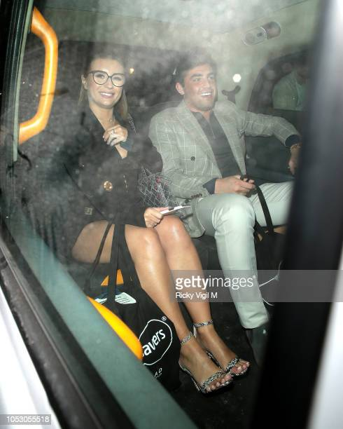 Jack Fincham and Dani Dyer seen attending Spectacle Wearer of the Year Awards on October 24 2018 in London England