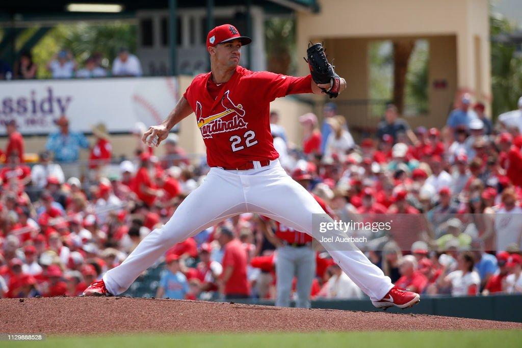 Wasington Nationals v St Louis Cardinals : News Photo