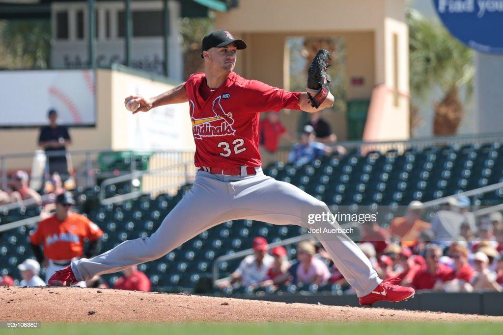 St Louis Cardinals v Miami Marlins