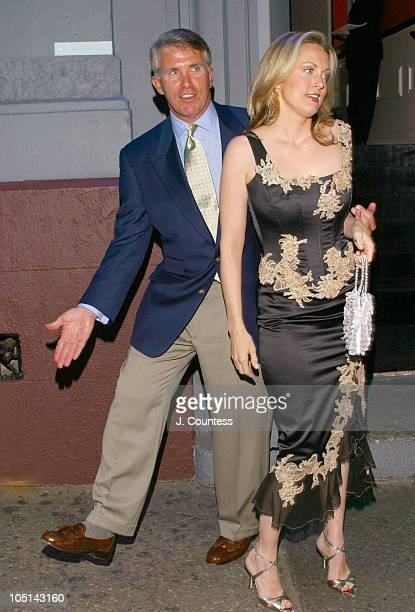 Jack Ford and Alexandra Wentworth during Living It Up With Ali and Jack Launch Party at Plaid in New York City New York United States