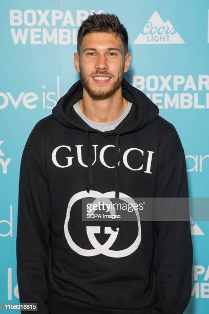 Jack Fowler attends Love Island finale screening at the Boxpark Wembley in London
