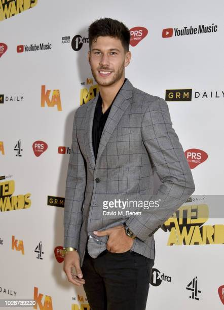 Jack Fowler attends the 2018 KA GRM Daily Rated Awards at Eventim Apollo on September 4 2018 in London England