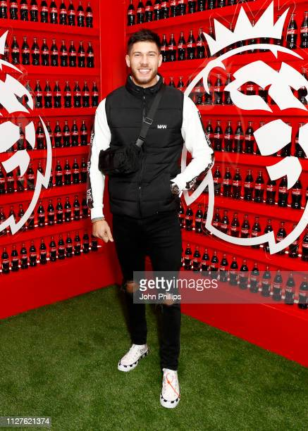 Jack Fowler attends the CocaCola and Premier League campaign launch party of 'Where Everyone Plays' at White Rabbit Shoreditch on February 05 2019 in...