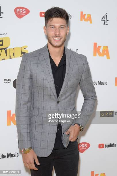 Jack Fowler attends UK Grime and Hip Hop event the KA GRM Daily RATED AWARDS 2018 at Eventim Apollo on September 4 2018 in London England
