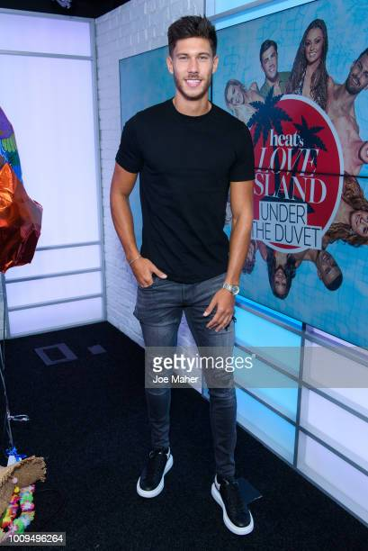 Jack Fowler from Love Island visits Heat Radio on August 2 2018 in London England