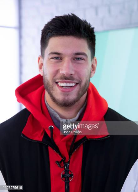 Jack Fowler poses for photos during his visit to Heat Radio on February 04 2019 in London England