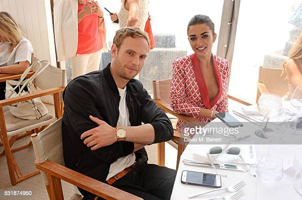Jack Fox and Amy Jackson attend InStyle's 'Spirit In Film' lunch in partnership with Bulldog Gin during the 69th Cannes Film Festival at Miramar...