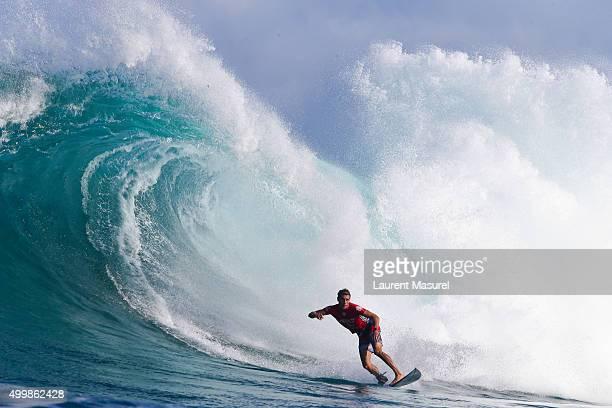 Jack Freestone of Australia on Round of 32 on December 3 2015 in Sunset Beach Hawaii