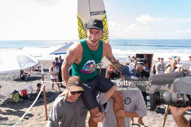 Jack Freestone of Australia wins the final of the Red Bull Airborne at the 2019 Corona Bali Protected at Keramas on May 17 2019 in Bali Indonesia