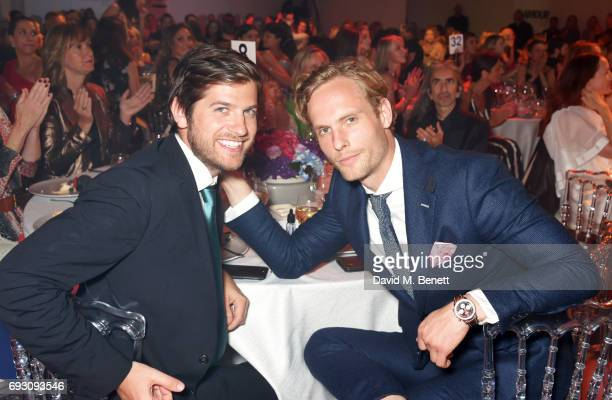 Jack Freud and Jack Fox attend the Glamour Women of The Year Awards 2017 in Berkeley Square Gardens on June 6 2017 in London England