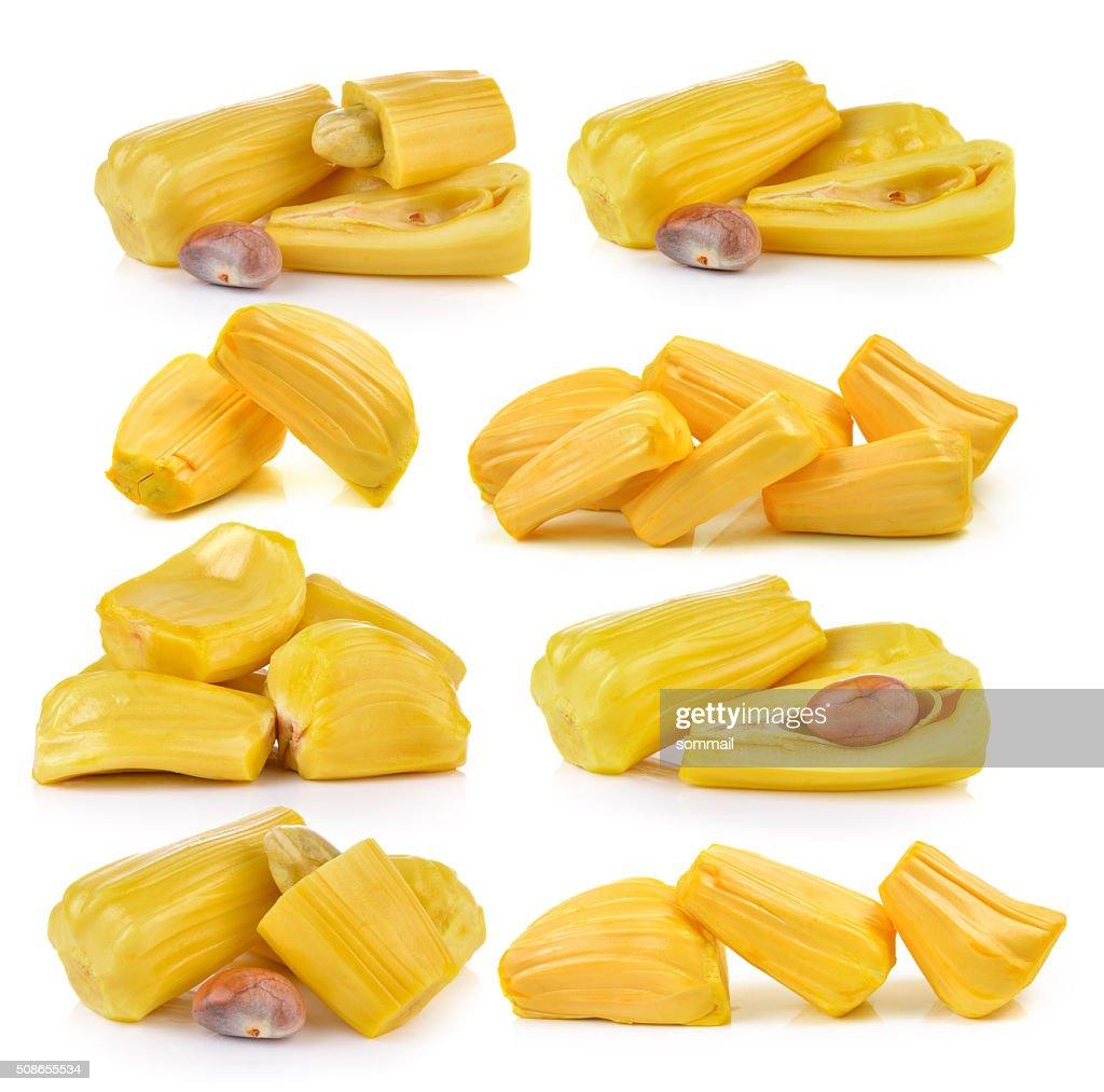jack fruit on white background : Stock Photo