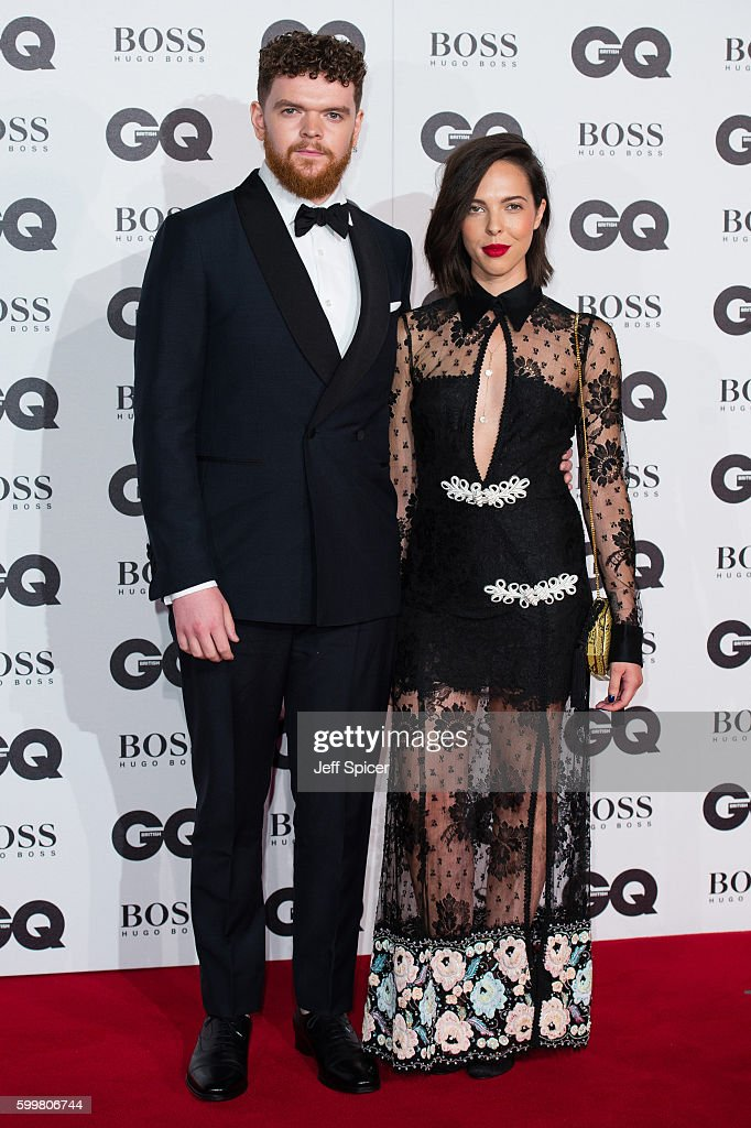 Jack Garratt (L) arrives for GQ Men Of The Year Awards 2016 at Tate Modern on September 6, 2016 in London, England.