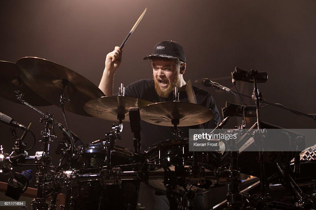 Jack Garratt performs at Metropolis Festival at the RDS Concert Hall on November 4, 2016 in Dublin, Ireland.