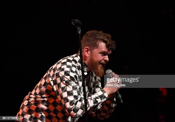 Jack Garratt performs on stage at the 13th Annual MusiCares MAP Fund Benefit Concert at the PlayStation Theater on June 26 2017 in New York City...