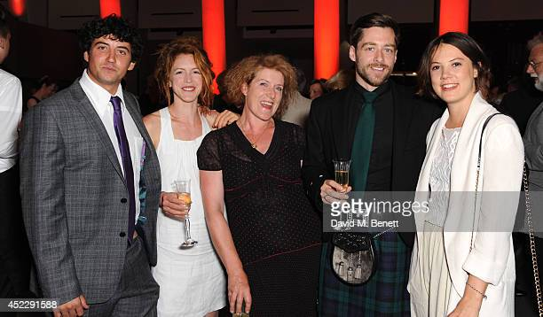Jack Gordon Marianne Oldham Sarah Phelps Richard Rankin and Alice St Clair attend a party to mark the reopening of the Imperial War Museum on July 17...