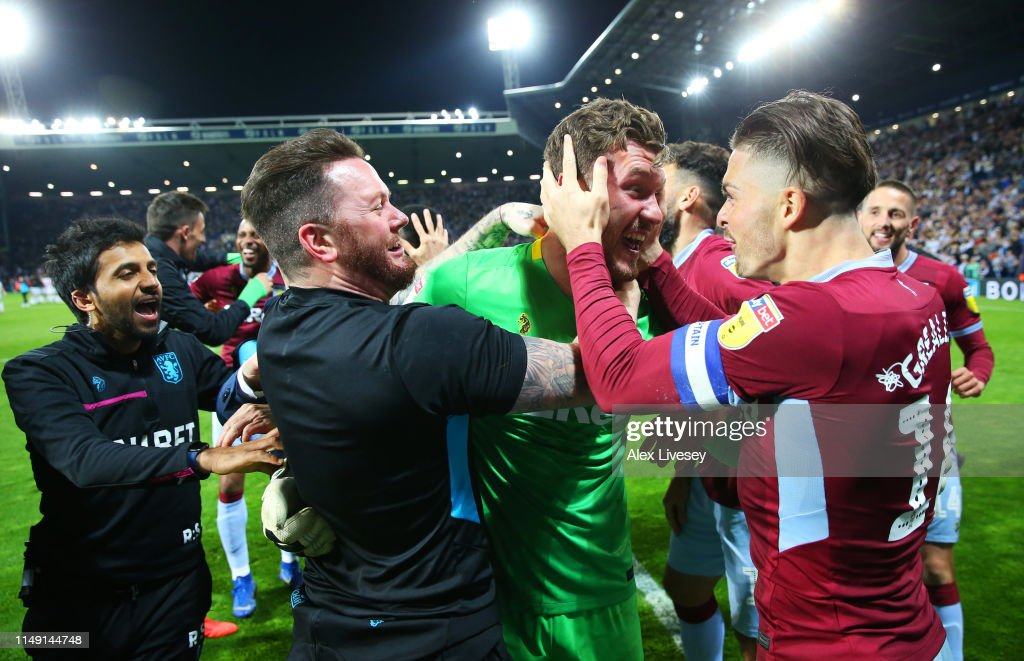 West Bromwich Albion v Aston Villa - Sky Bet Championship Play-off Semi Final: Second Leg : News Photo
