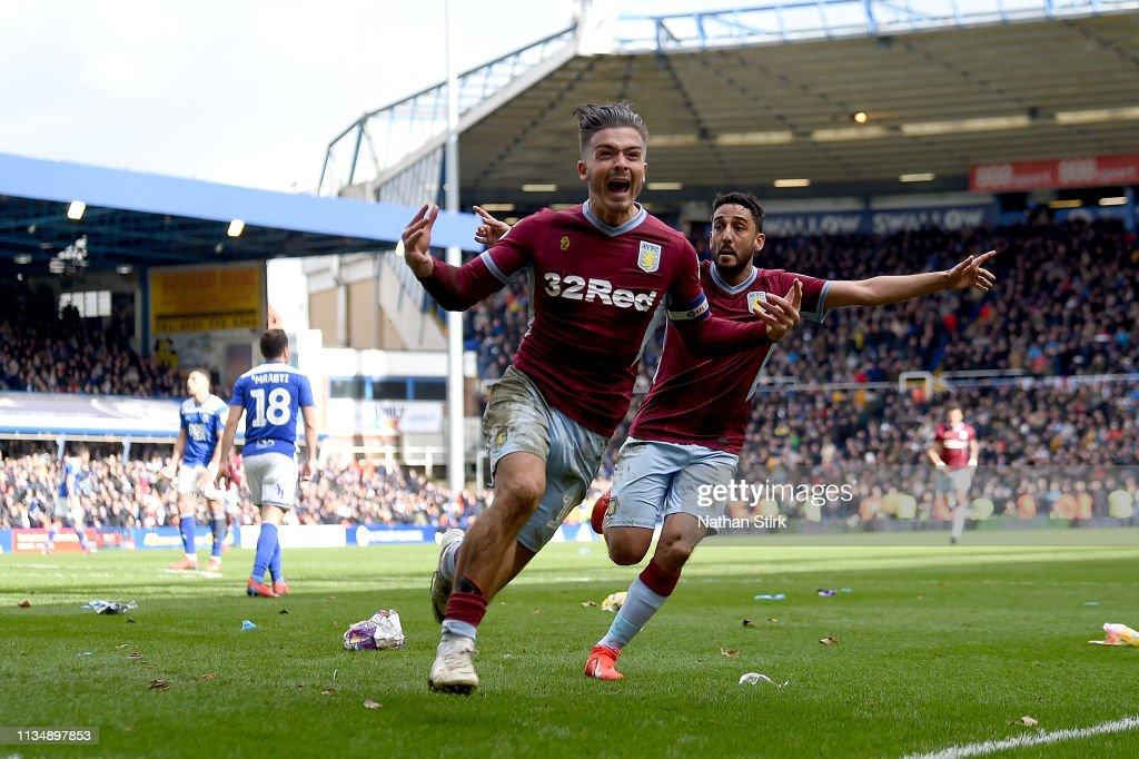 Birmingham City v Aston Villa - Sky Bet Championship : ニュース写真