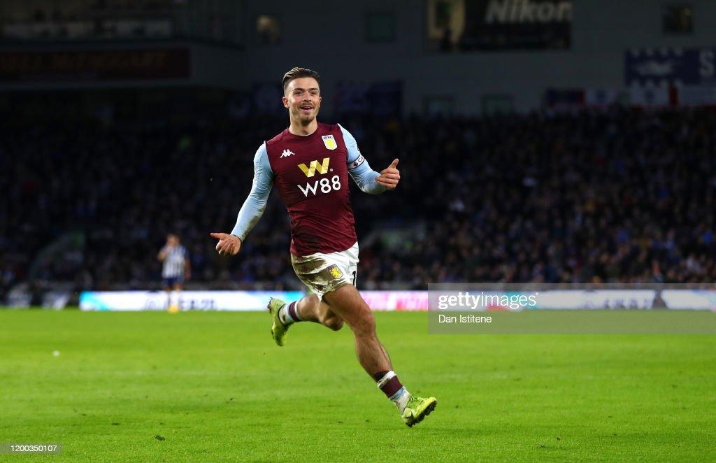 Brighton & Hove Albion v Aston Villa - Premier League : ニュース写真