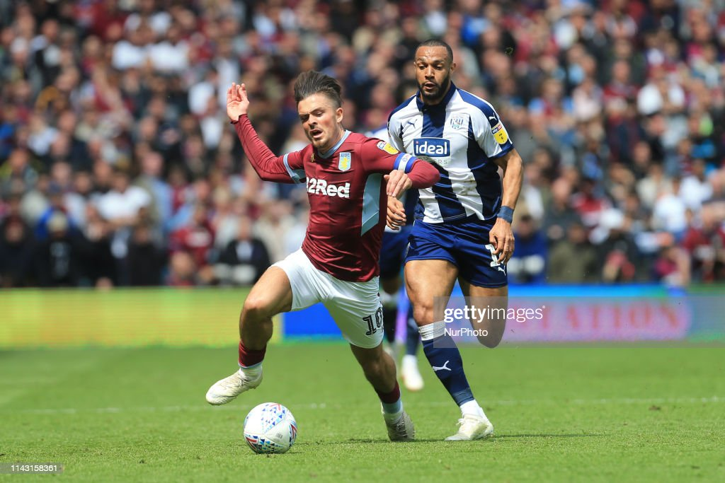 Aston Villa v West Bromwich Albion - Sky Bet Championship Play-off Semi Final: First Leg : News Photo