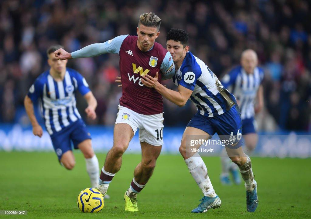 Brighton & Hove Albion v Aston Villa - Premier League : News Photo