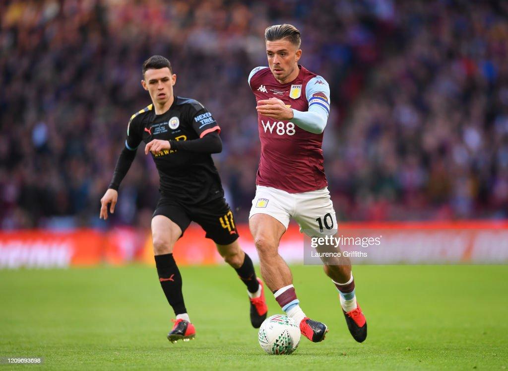 Aston Villa v Manchester City - Carabao Cup Final : ニュース写真