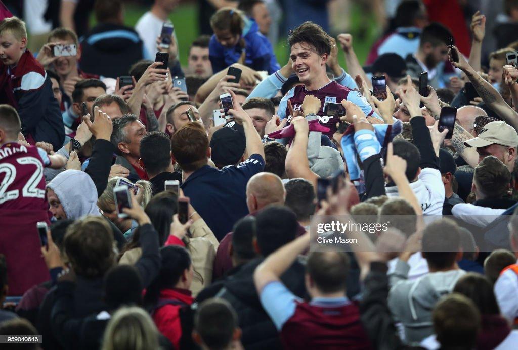Aston Villa v Middlesbrough - Sky Bet Championship Play Off Semi Final:Second Leg : News Photo