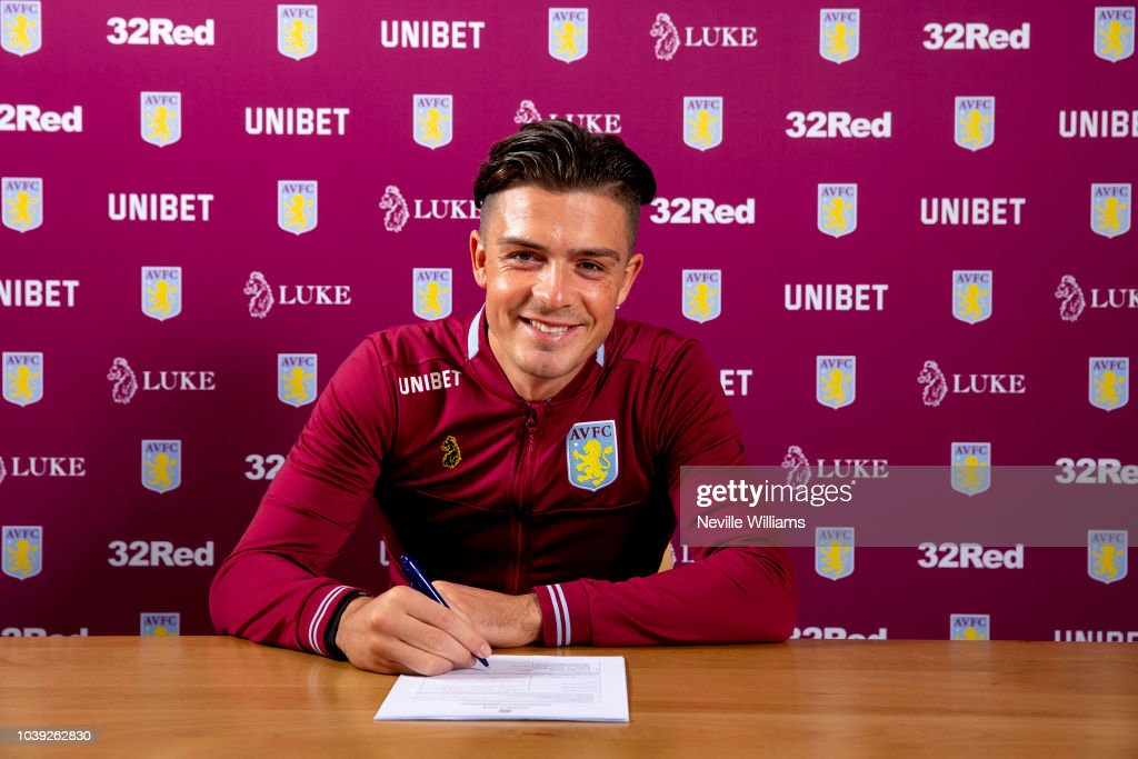 Jack Grealish Signs a New Contract at Aston Villa