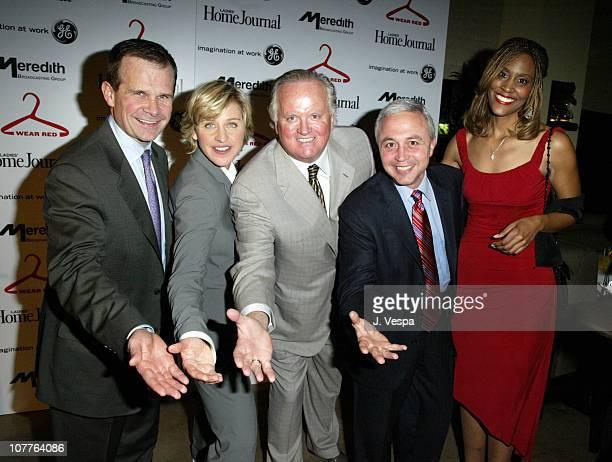 Jack Griffin Ellen DeGeneres Kevin O'Brien Steve Lacey and Connie Higgins