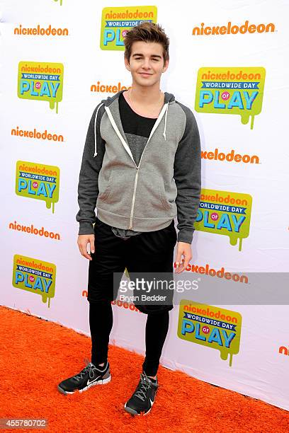 Jack Griffo of The Thundermans attends Nickelodeon's 11th Annual Worldwide Day of Play at Prospect Park on September 20 2014 in New York City