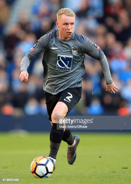 Jack Grimmer of Coventry City during the FA Cup Fifth Round match between Brighton and Hove Albion and Coventry City at Amex Stadium on February 17...