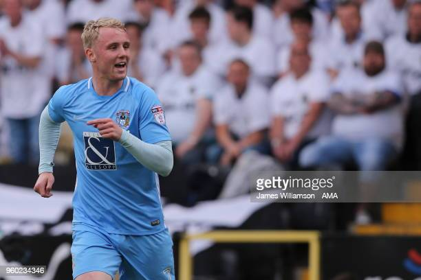 Jack Grimmer of Coventry City during the Sky Bet League Two Play Off Semi FinalSecond Leg between Notts County and Coventry City at Meadow Lane on...