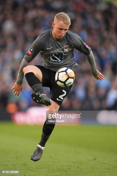Jack Grimmer of Coventry City in action during The Emirates FA Cup Fifth Round match between Brighton and Hove Albion and Coventry City at Amex...