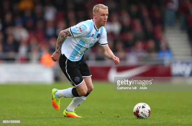 Jack Grimmer of Shrewsbury Town during the Sky Bet League One match between Northampton Town and Shrewsbury Town at Sixfields on April 17 2017 in...