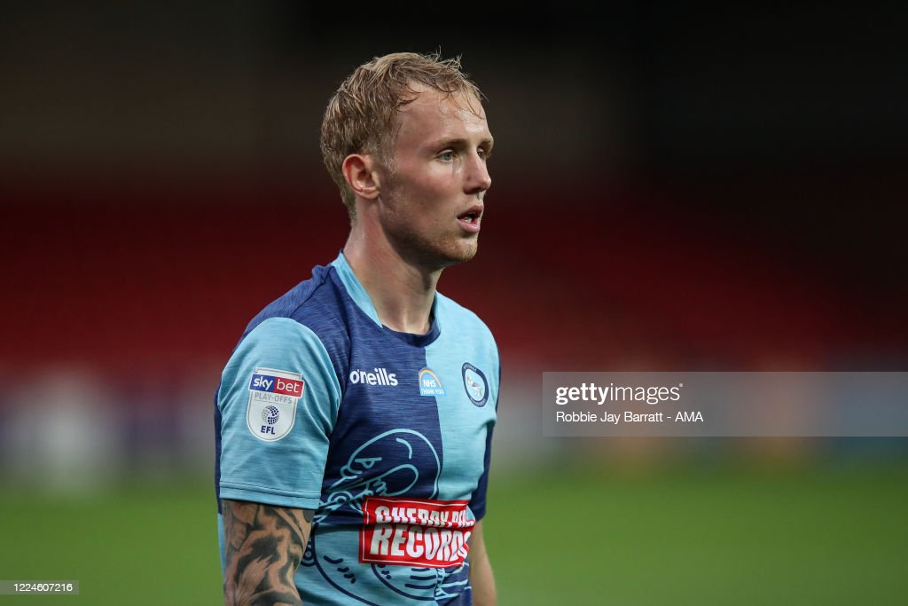 Fleetwood Town v Wycombe Wanderers - Sky Bet League One Play Off Semi-final 1st Leg : News Photo