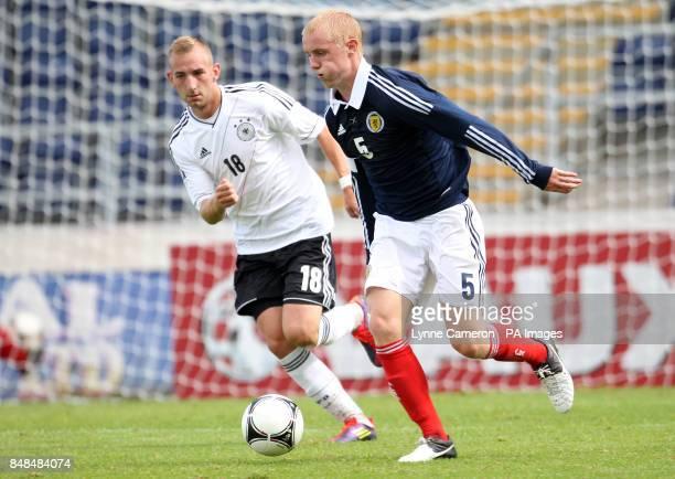 Jack Grimmer Scotland and Marcel Karcher Germany