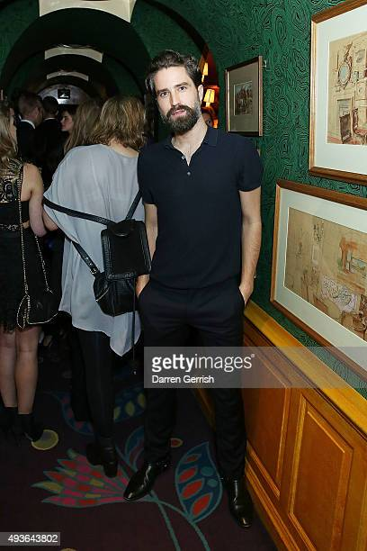 Jack Guinness attends 'A Bigger Splash' premiere after party presented by AnOther x Dior at Annabel's on October 21 2015 in London England