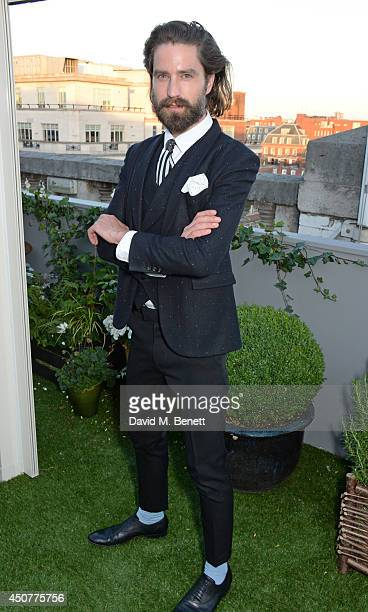 Jack Guinness attends a party hosted by SIBLING LOVE on the rooftop of Selfridges in celebration of LCM at Selfridges on June 17 2014 in London...
