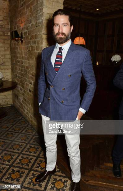 Jack Guinness attends a private dinner hosted by Jonathan Newhouse and Tommy Hilfiger to celebrate London Collections Men SS15 at Little House on...