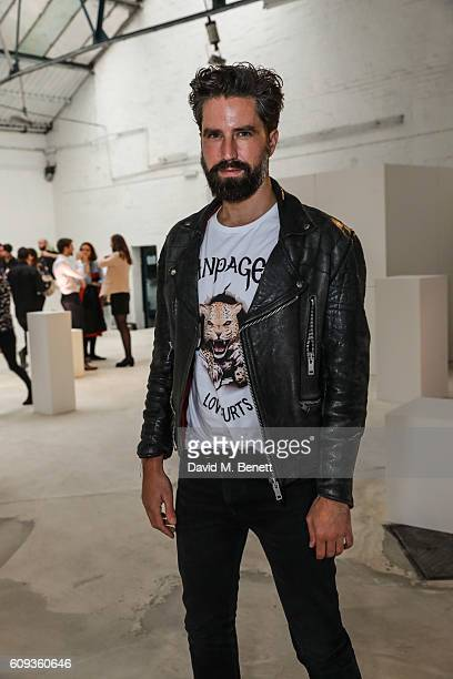 Jack Guinness attends a Private View iD And CHANEL Present The Fifth Sense Mirror Maze By Es Devlin on September 20 2016 in London United Kingdom