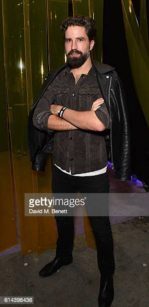 Jack Guinness attends Dazed Magazine's 25th birthday party in partnership with Calvin Klein at The Store Studios on October 13 2016 in London England