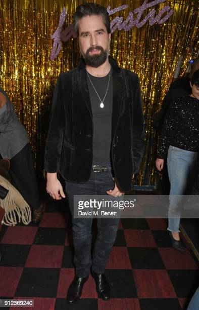 Jack Guinness attends the ALEXACHUNG Fantastic collection party on January 30 2018 in London England